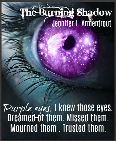 The Burning Shadow By Jennifer L Armentrout Lux Series Fan Book Dark Star