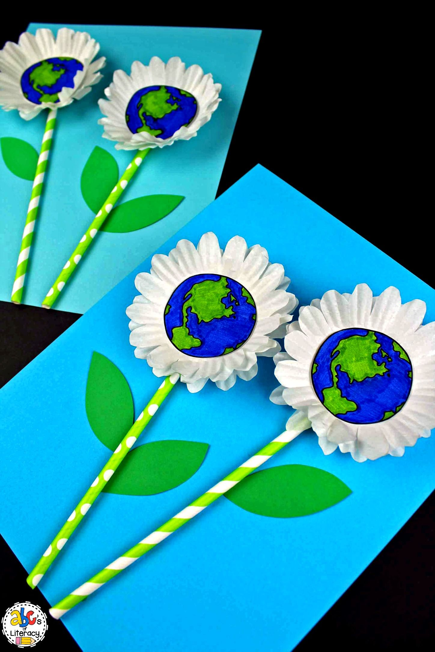 How To Make An Earth Day Flower Craft For Earth Day