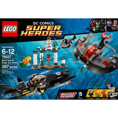 LEGO 76027 Superheroes Black Manta Deep Sea Strike