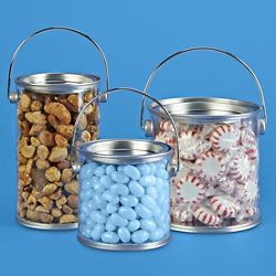 Clear Plastic Paint Cans Clear Pails In Stock Uline Birthday Party Art Theme Plastic Pail Paint Cans Plastic Buckets