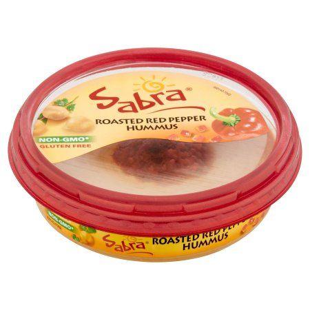Sabra Gluten Free Hummus Roasted Red Pepper, 10.0 OZ Image 2 of 5