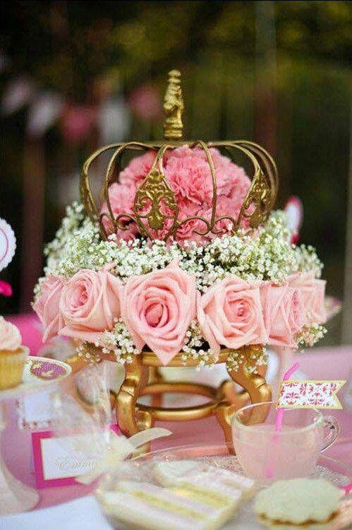 For A Royal Wedding Princess Bride Wedding Wedding Centerpieces