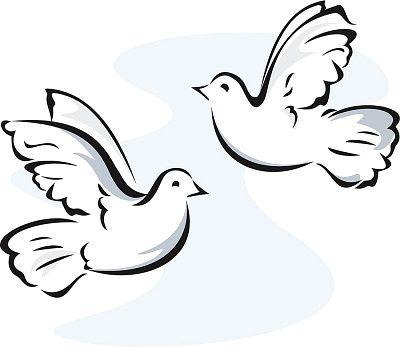 White Turtle Doves Clipart Clipartfest Clip Art Drawings Free Clip Art