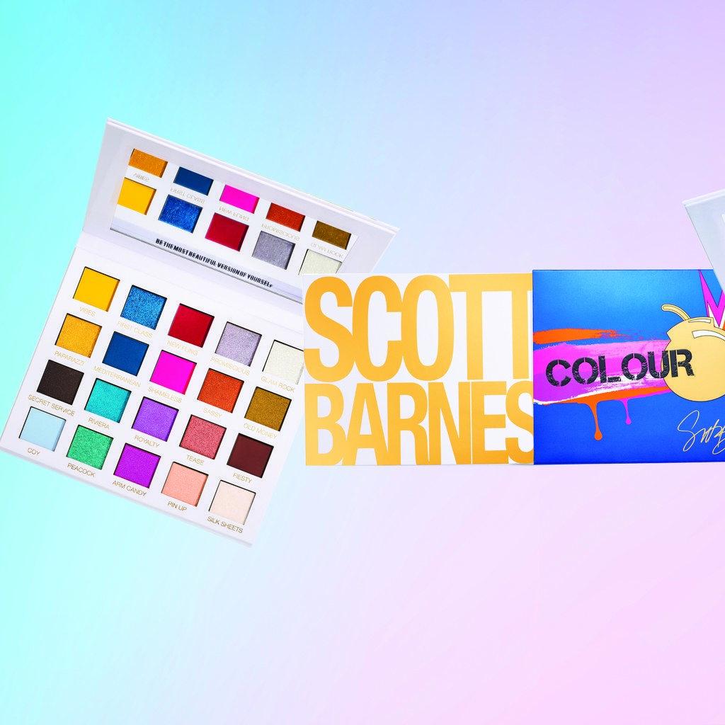 Scott Barnes Has Been Testing His Five New Makeup Palettes