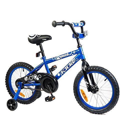 Tauki Kid Bike Bmx Bike For Boys And Girls 16 Inch Blue 95