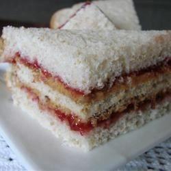 Ignacio's Super Peanut Butter and Jelly Sandwich Allrecipes.com