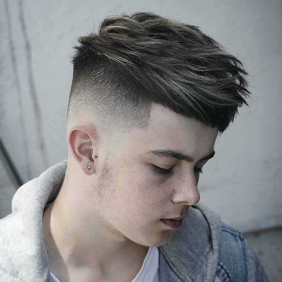 Conortaaffehair Cool Thick Hair Textured Haircut For Men