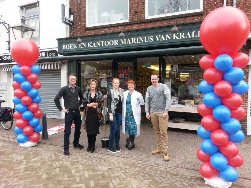 Start boekenweek bij van Kralingen in Breukelen
