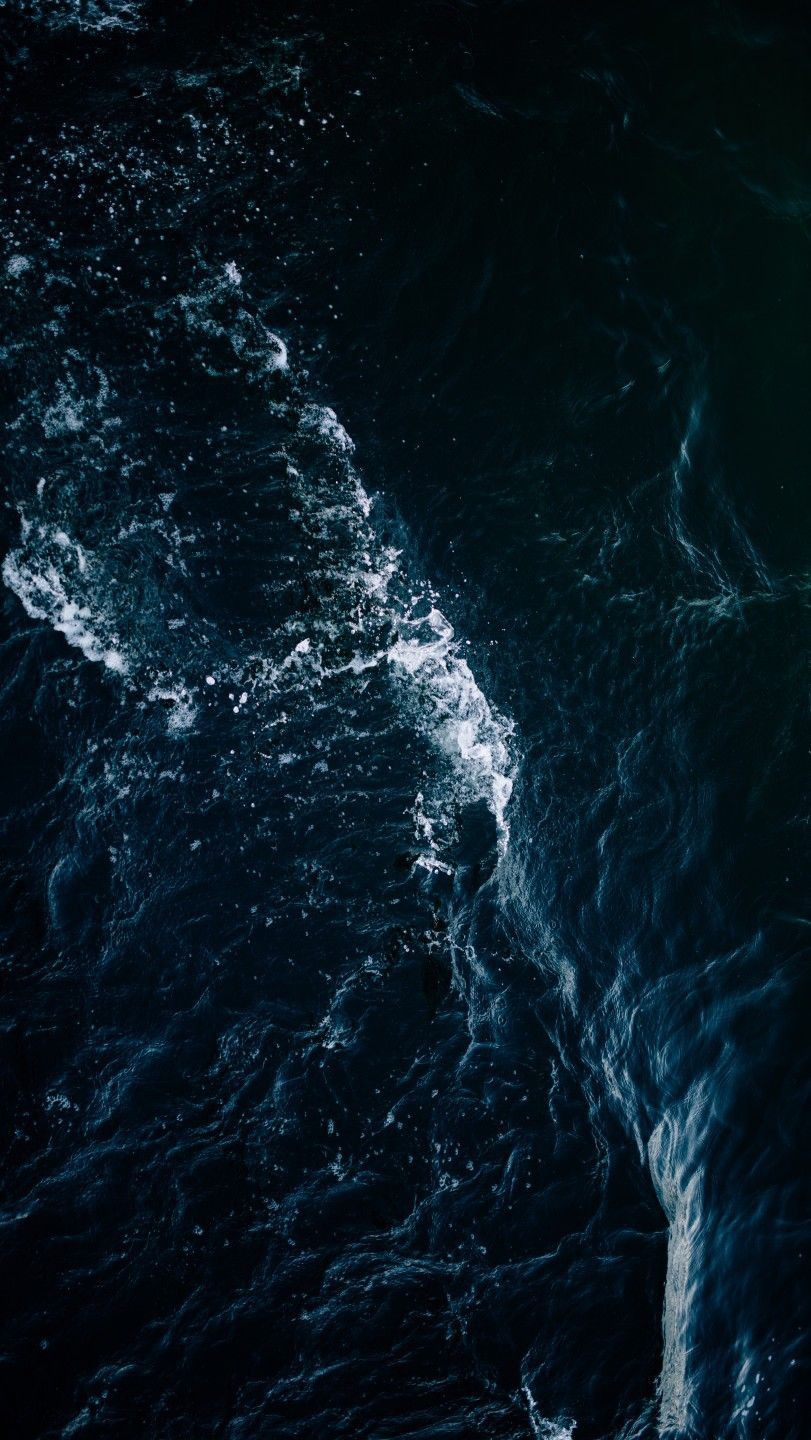 Ocean Dark Wallpaper Wallpaperideas Android Wallpaper Black Dark Wallpaper Black Ocean