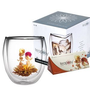 Rondo Glass Cup And Blooming Tea now featured on Fab. I have these glasses & the teapot & they're even more divine to use than they look!