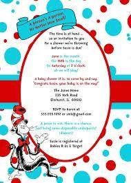 baby shower invitations ouval inside polkadot frame dr seuss baby