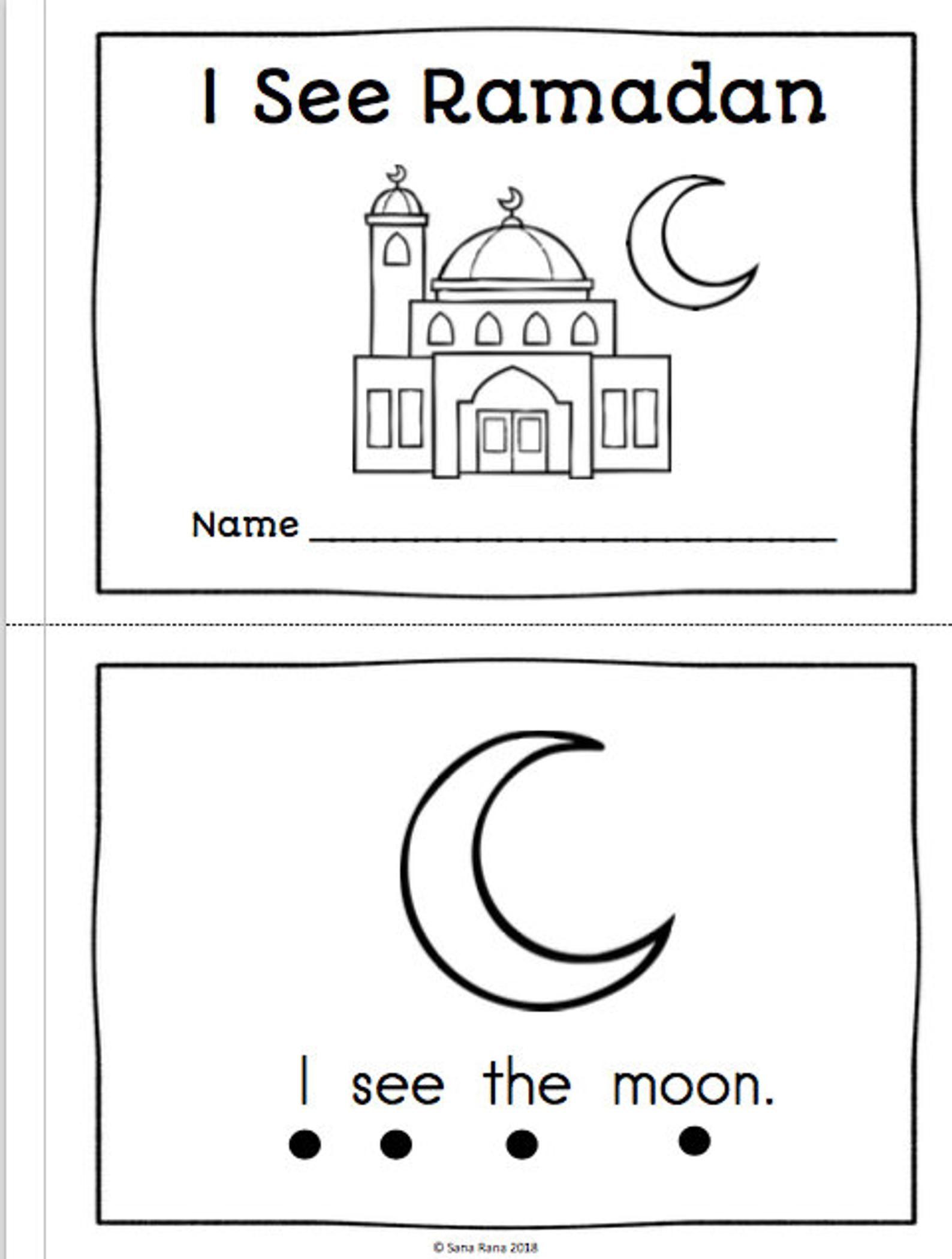 Ramadan Activity Pack Worksheet Printable Download In
