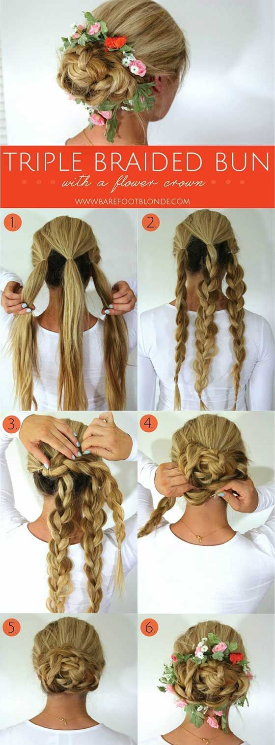 Braid Hairstyles For Long Hair 40 Braided Hairstyles For Long Hair  Simple Braids