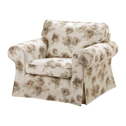 EKTORP Lepotuoli IKEA Helppo pitää puhtaana konepestävän irtopäällisen ansiosta.