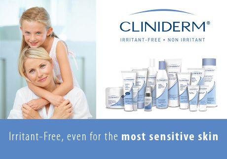 cliniderm sensitive comfort