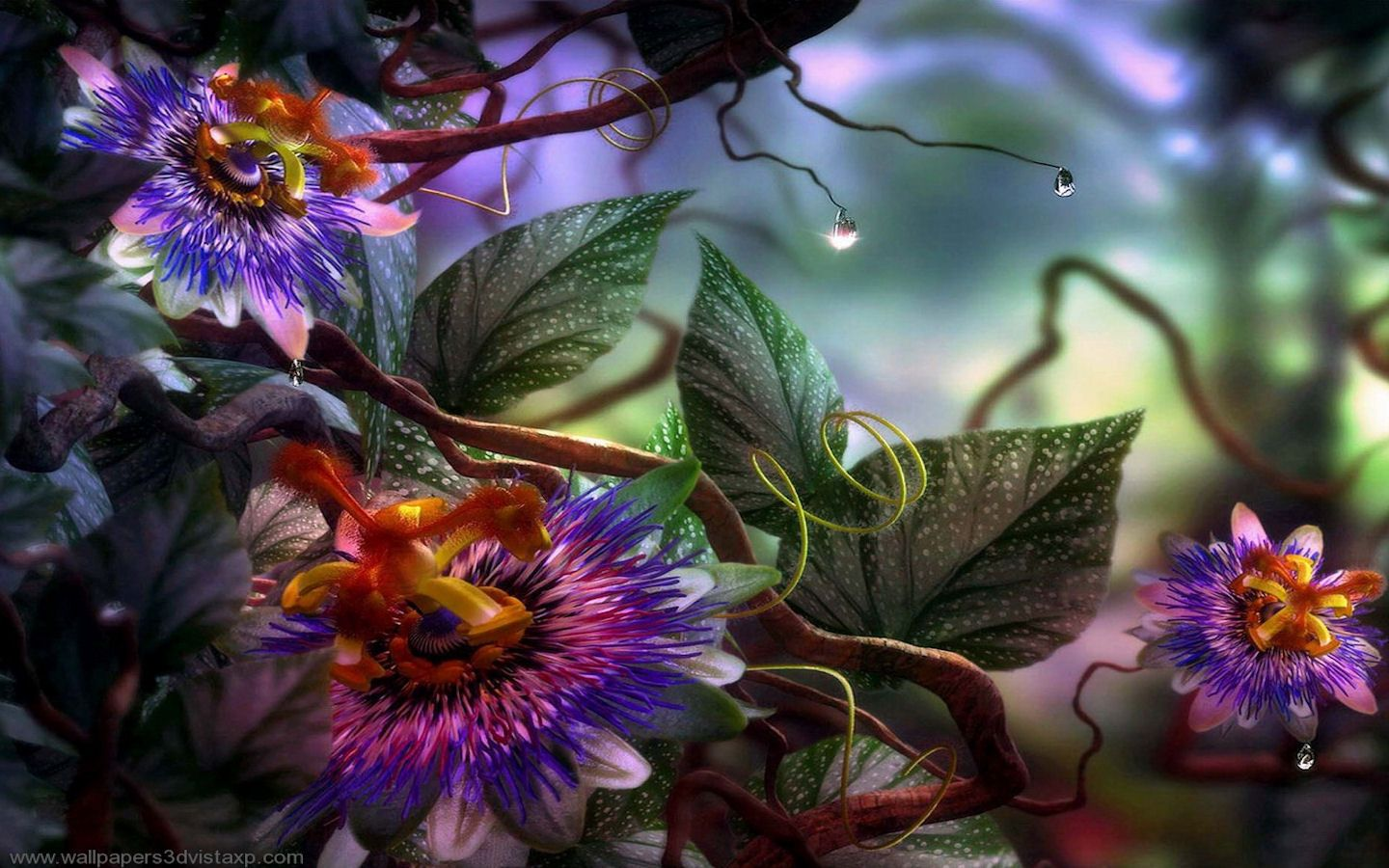 Flower Garden Wallpaper Background full hd fantasy garden widescreen high definition wallpaper