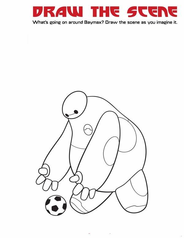 Dibujos para Colorear Big Hero 6 4 | Dibujos para colorear para ...