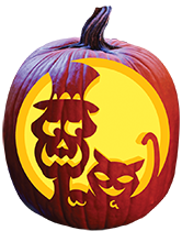 Electric Bill Pumpkin Carving Pattern