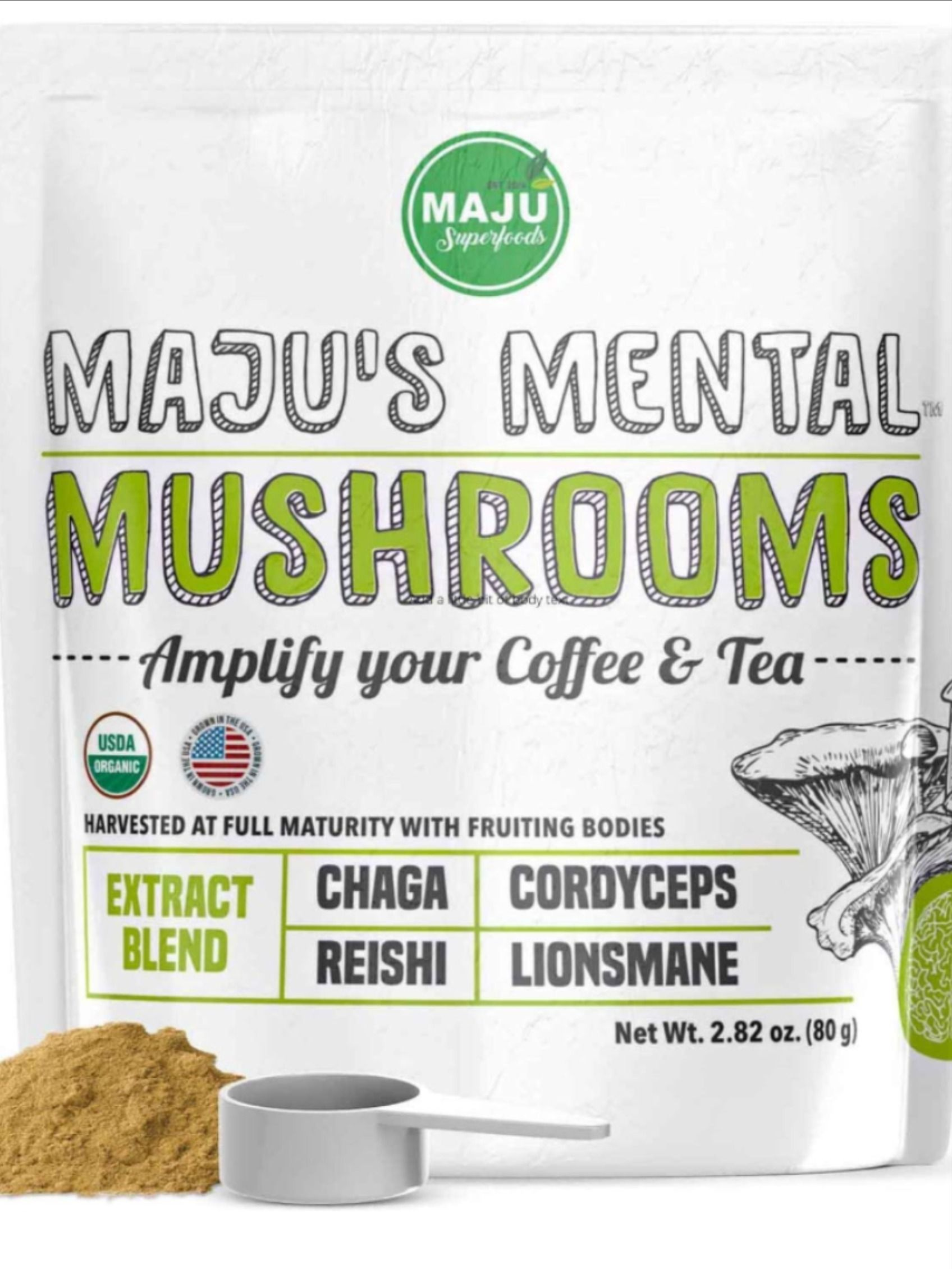 how to make lion's mane mushroom tea