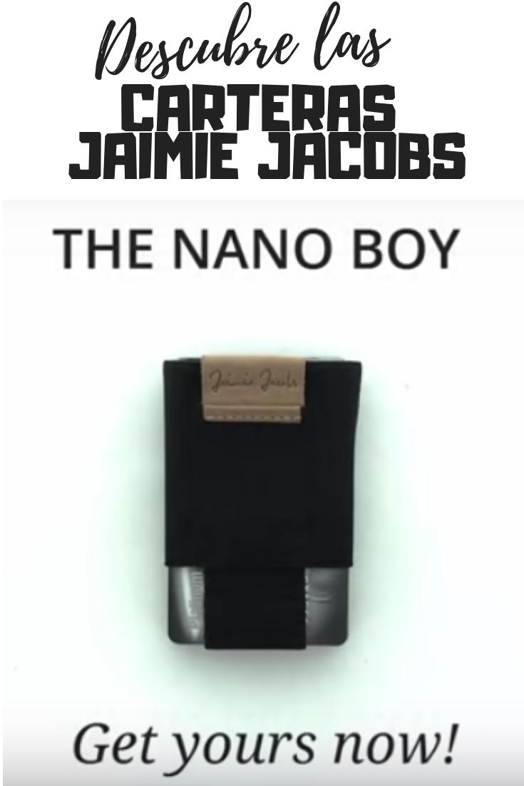 54010cf15b284 Las carteras de hombre Jaimie Jacobs son un producto pequeño y compacto.  Cumple perfectamente el