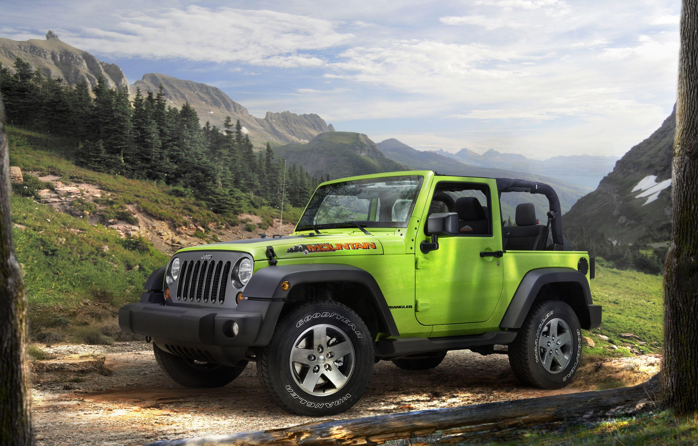 Jeep wrangler mountain das plus an offroad performance