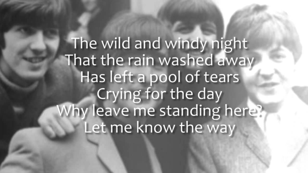 The Beatles - Long and Winding Road (Plus Lyrics) (1970) became the Beatles last number 1 in the US. McCartney originally wrote the song at his farm in Scotland