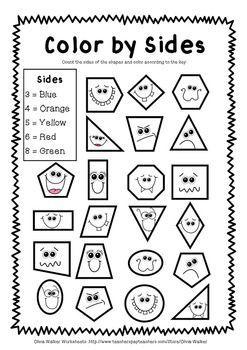kindergarten shapes worksheets – streamclean.info