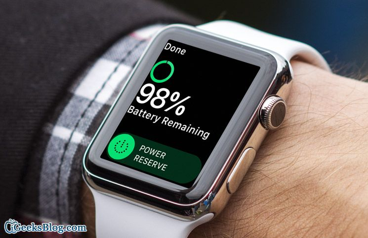 How to Turn ON Power Reserve Mode on Apple Watch Apple