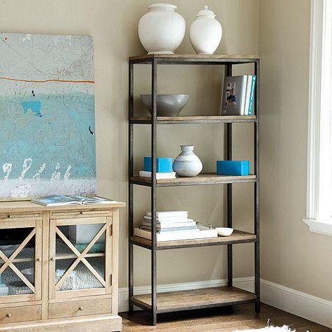 Durham Tall Bookcase Ballard Designs - Durham Tall Bookcase Fireplaces, Metal Frames And Metals