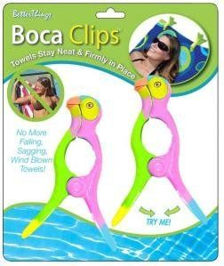 Boca Beach Towel Clips Parrot Hot Styles For This Season These