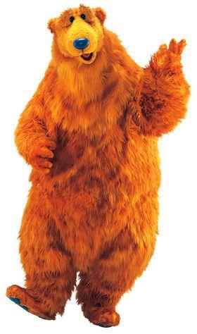 Bear In 2020 Big Blue House Bear Art Bear