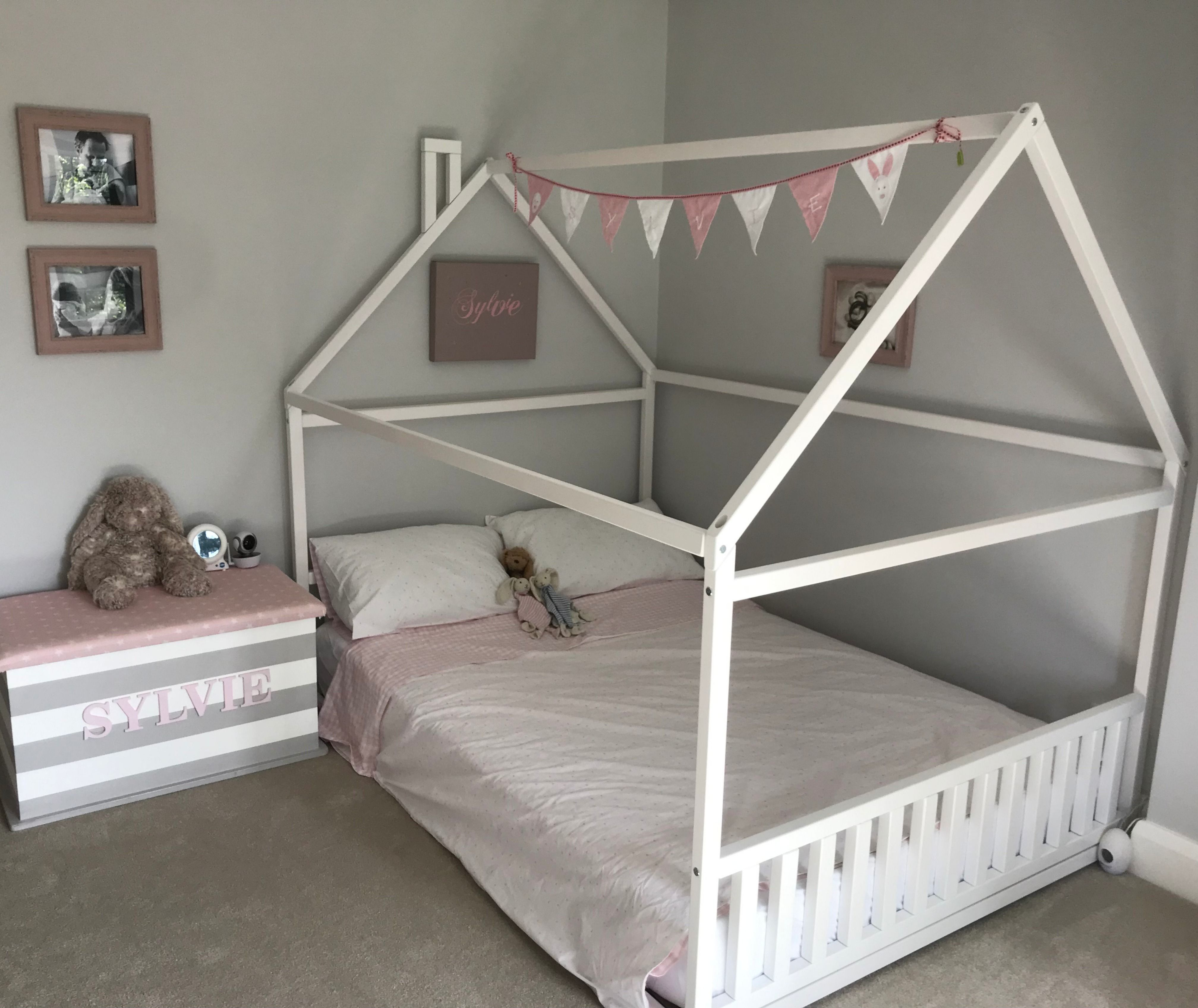 montessori toddler room wooden bed full or queen size for etsy girls kids frames house beds 1920 highboy dresser