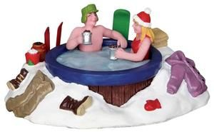 Jacuzzi - Lemax Christmas Village Accessory