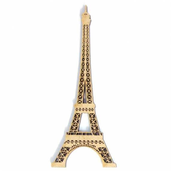Tour Eiffel 10 cm pour embellisement scrapbooking