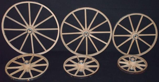 Charmant Amish Handcrafted Small Cart Or Wagon Wheels Available In 10 Inch, 12 Inch,  14 Inch, 16 Inch, 18 Inch Or 20 Inch
