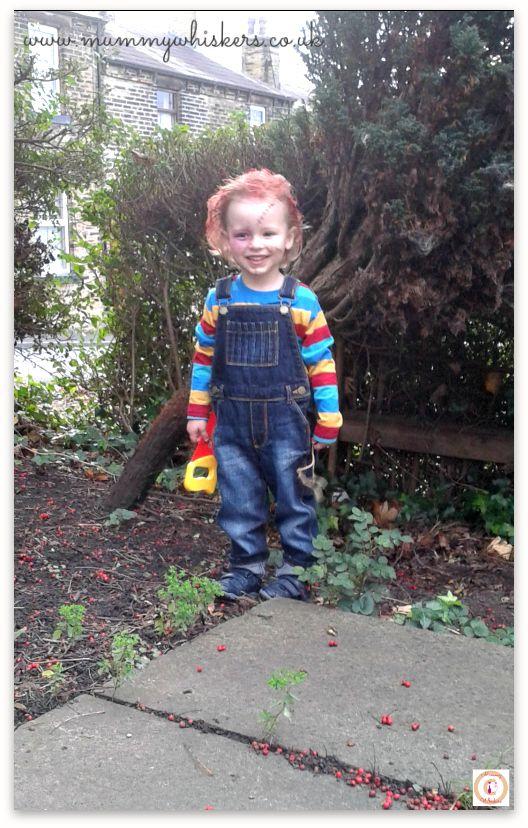 Chucky toddler Halloween costume Chucky halloween