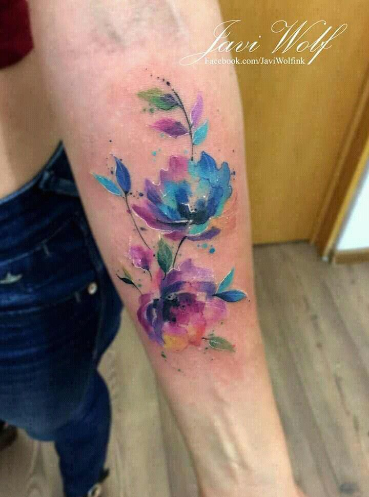 178873fea Javi Wolf. Mexican tattooer | Tattoos = Art! | Watercolor tattoo ...