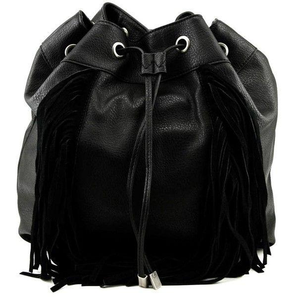 Steve Madden Teagan Fringe Backpack Women Style Handbags 53 Liked On Polyvore