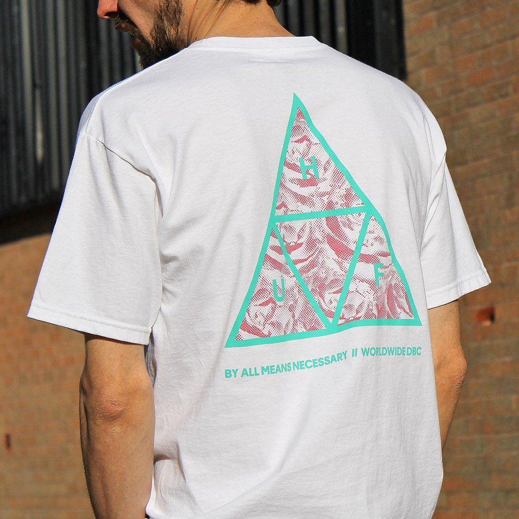 HUF Triple Triangle UV T-shirt