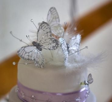 Metal Erfly Wedding Cake Toppers The Specialists