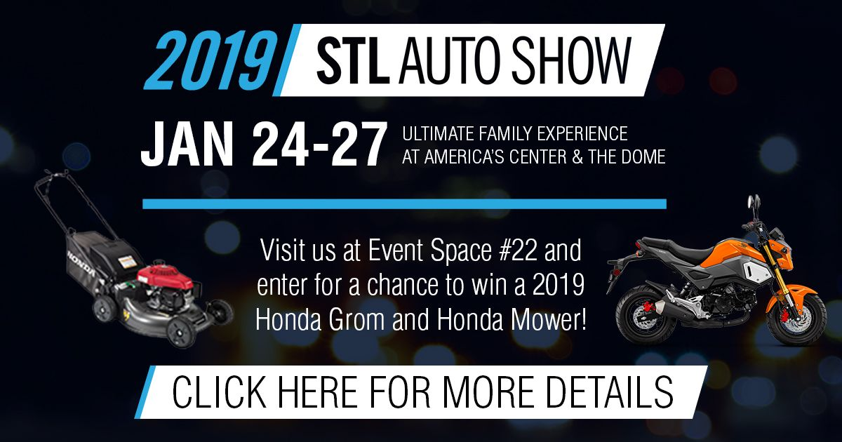 Today's the day! We will be at the Saint Louis Auto Show