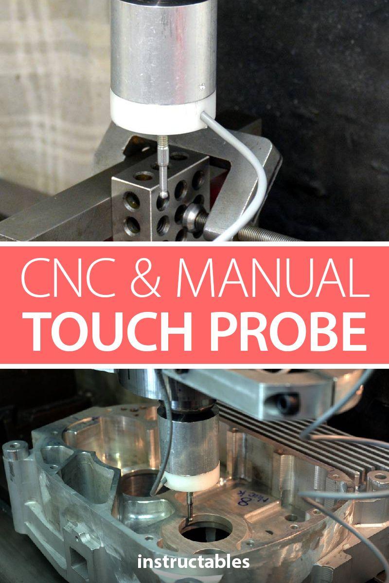 Cnc Manual Touch Probe Diy Cnc Cnc Cnc Milling Machine