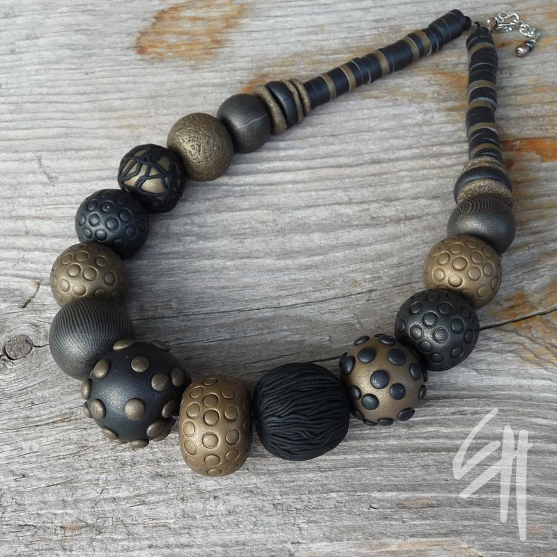 https://flic.kr/p/ae2yxs   Necklace   Polymer clay jewellery - necklace