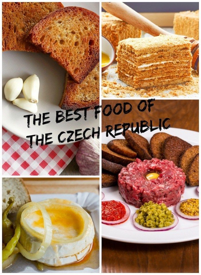 A Visitors Guide for the Best Local Food to Eat in the Czech Republic #czechfood