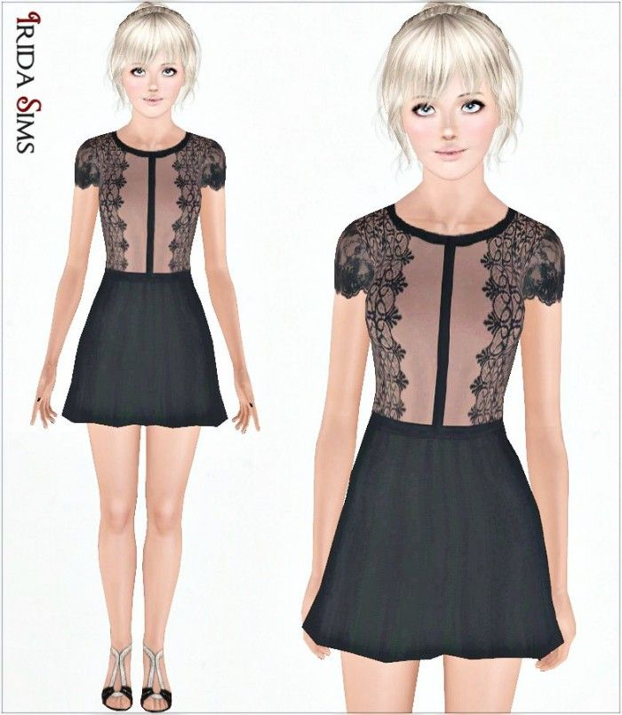 Dress 33 by Irida - Sims 3 Downloads CC Caboodle