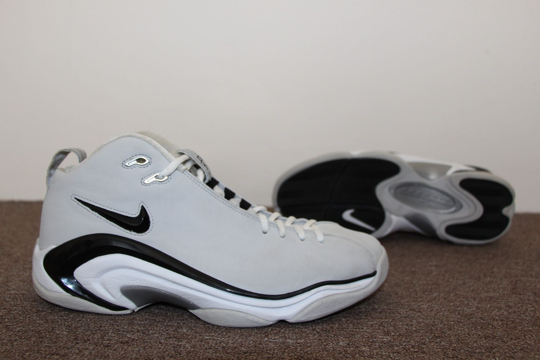 Nike Air Pippen II Retro 2006 (Neutral Grey/BlackWhite