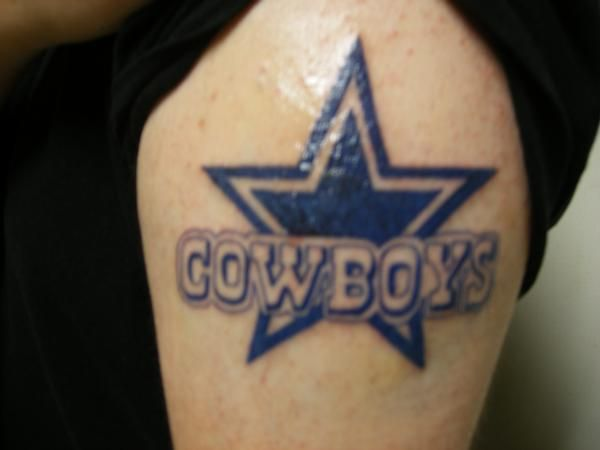 Dallas cowboys tattoos designs tattoos pinterest for Dallas cowboys star tattoo