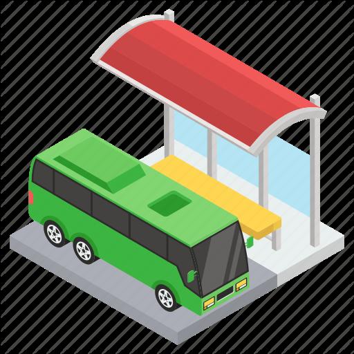 Bus Service Bus Station Bus Stop Bus Terminal Public Transport Icon Download On Iconfinder Bus Stop Bus Terminal Bus Station
