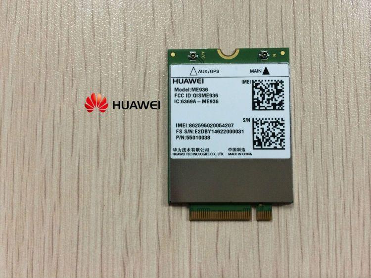 HUAWEI ME936 4G LTE WCDMA/HSDPA/HSUPA/HSPA+ GPRS/EDGE NGFF