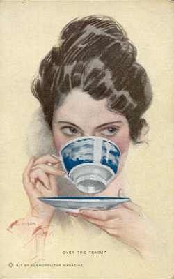 A Cuppa Woman in a Teacup